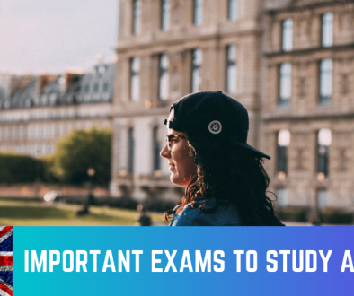 Important exams to study abroad